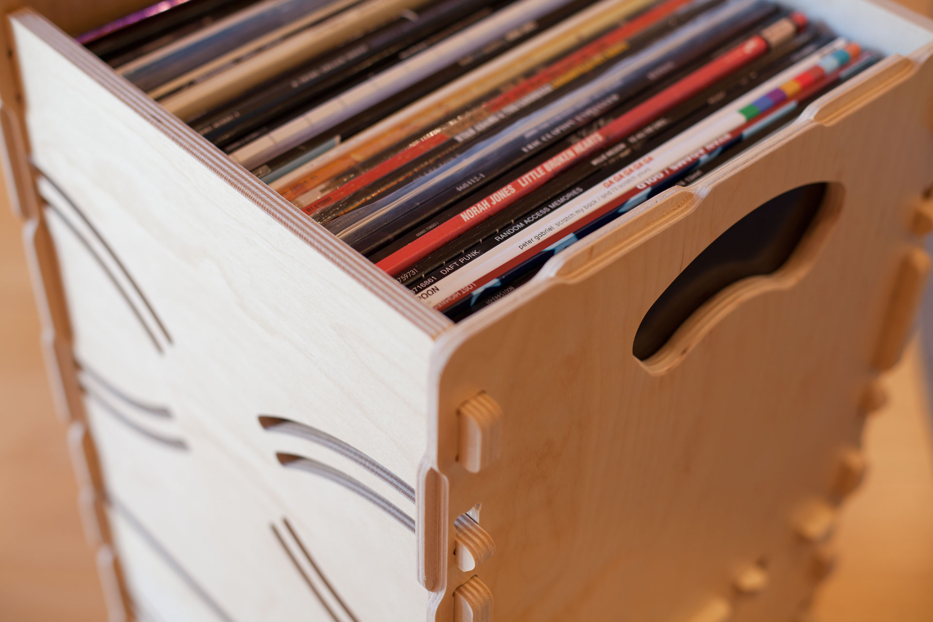Stacked-Wax-Stacks-Record-Crate