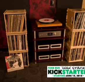 Wax Stacks Record Crates Stacked Up